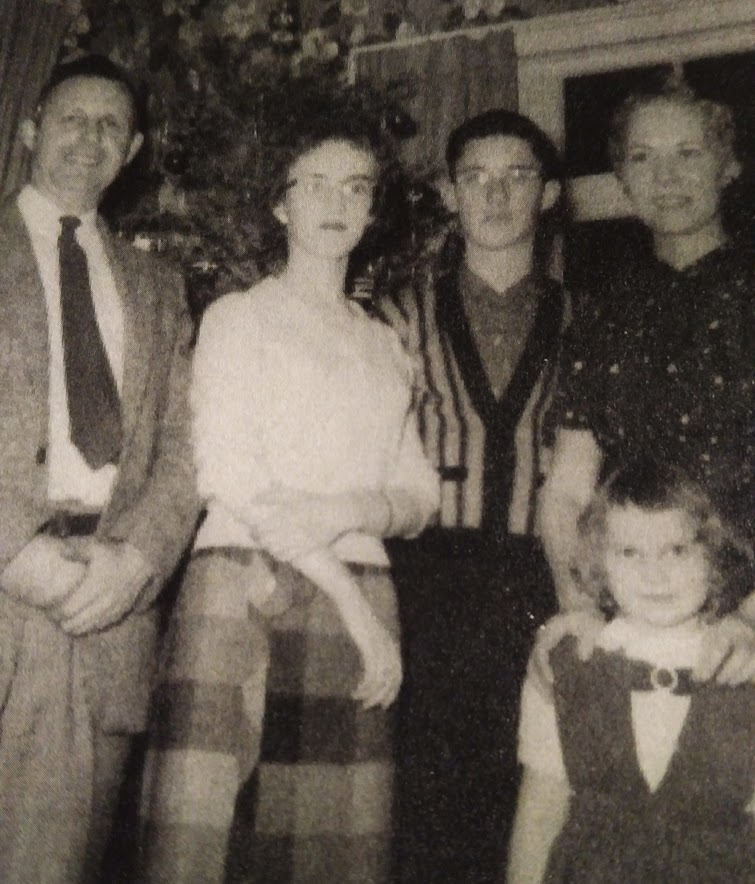 Christmas 1958 - My grandmother died 6 months later